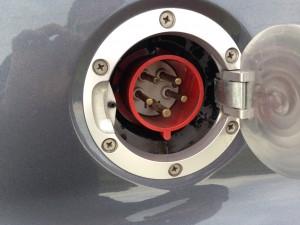 Charge port CEE 32A 400V 3P+N+E