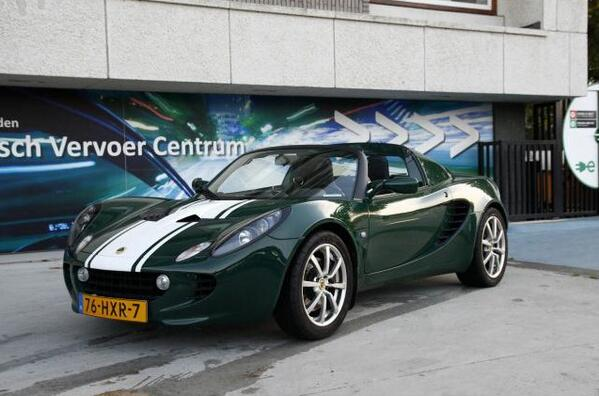 Green Lotus Elise ECE 76-HXR-7