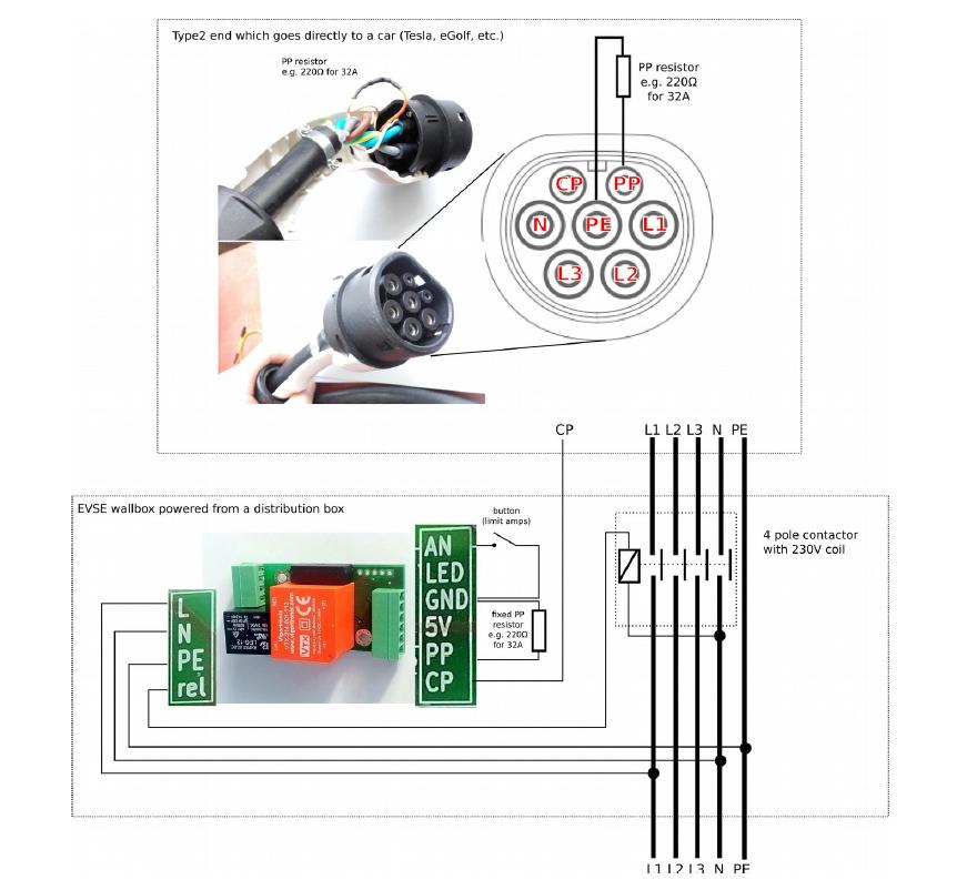EVSE schematic